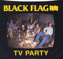 Black Flag TV Party 12 inch