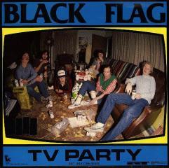 "BLACK FLAG TV PARTY 7"""