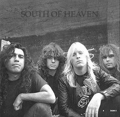 SLAYER South of Heaven (Back cover)