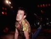 Jello Biafra at the URGH show at the Santa Monica Civic, circa 1980. This shot was used in MY RULES as a B&W.