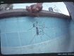 Alva by the tiles trespassing in Beverly Hills 1977