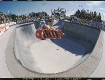 Duane Peters in the corner of the Upland Combi-Pool, early 80's