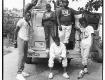 JunkYard band shot in their neighborhood, in Washington DC circa 1986