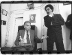 Ralph Nader and Cornel West in Al Sharpton's office on the eve of the election in 2000.