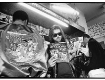 Rick Rubin reading the magazines at the newsstand in Hollywood, CA circa 1986