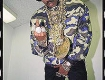 Slick Rick with a bit of jewelry and my reversible jacket circa 1988