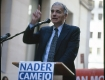 This was the second presidential election in a row that I spent the day before listening to Ralph Nader. This time on Wall Street in New York City, the heart of capitalist amerikkka. Nader was speaking out against corporate crime and his great ideas of where the country should be going. -