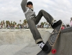 Haden McKenna - this photo shot with a borrowed digital camera - Venice Skatepark - 23 December 2010